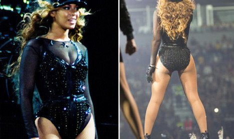 Beyonce Knowles Butt