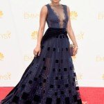 Alicia Quarles wearing Dany Atrache at the Emmys