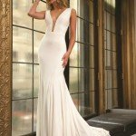 Jovani Two Straps Jersey Dress 22884