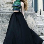 Sherri Hill Taffeta Skirt Long Dress 32205