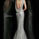 Sherri Hill Cowl Back Prom Dress 4802 (Back)