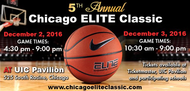 Chicago Elite Classic! Dec. 2-3, 2016