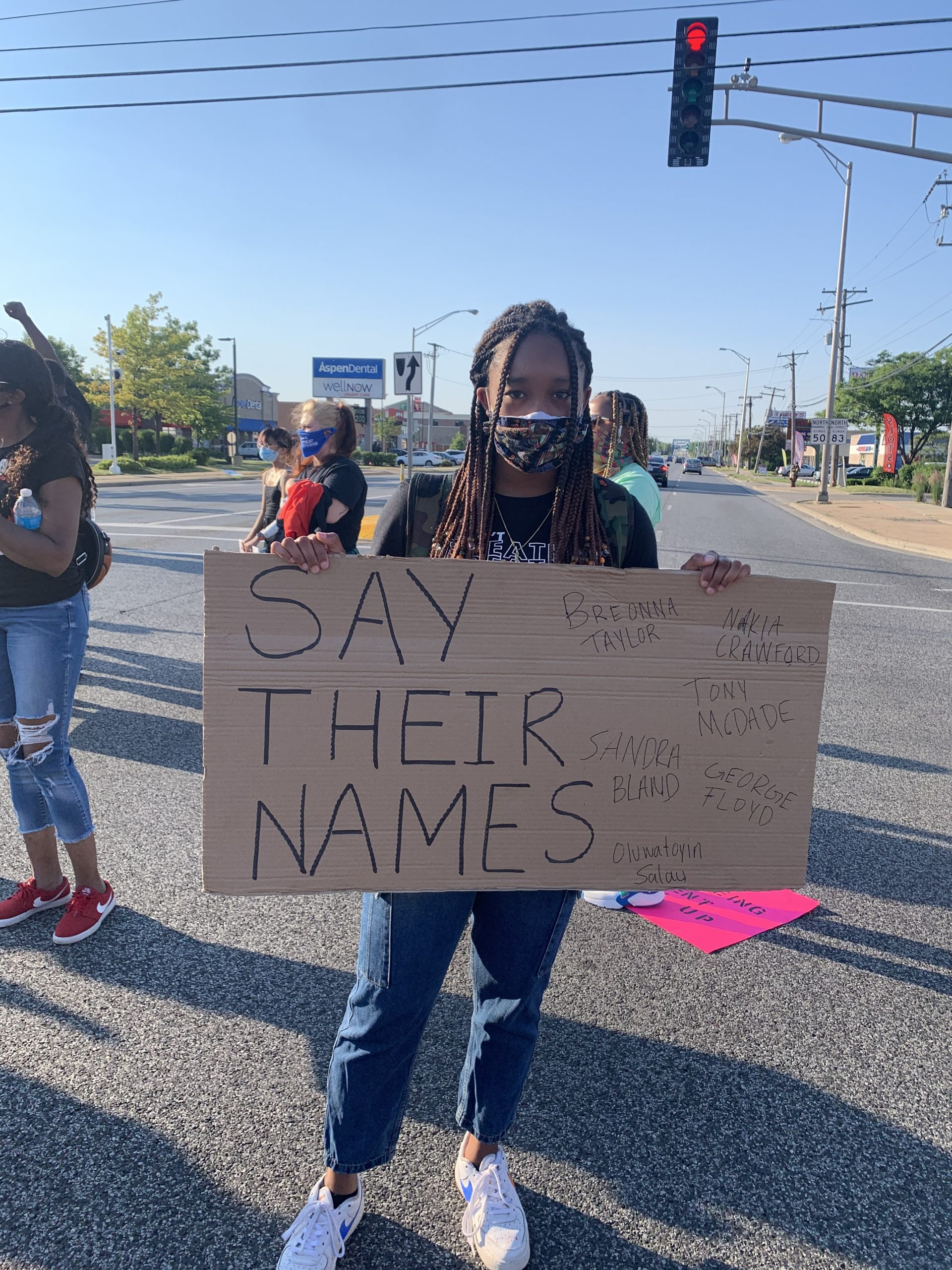 Nia Kay Uses Her Platform To Protest Truestar